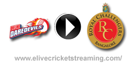 Delhi Daredevils vs Royal Challengers Bangalore Live at Delhi, May 10, 2013