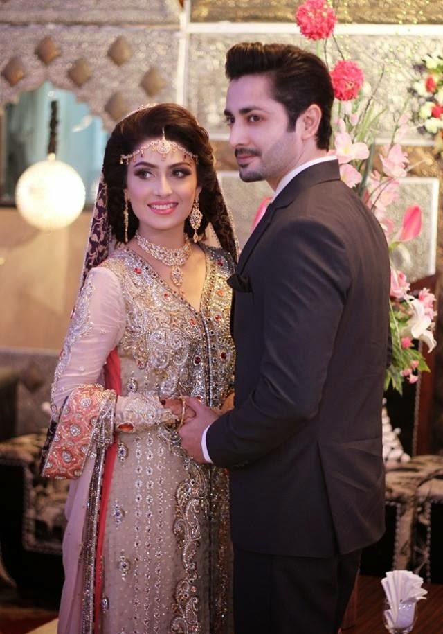 Danish Taimoor & Aiza Khan Couple HD Wallpapers Free Download