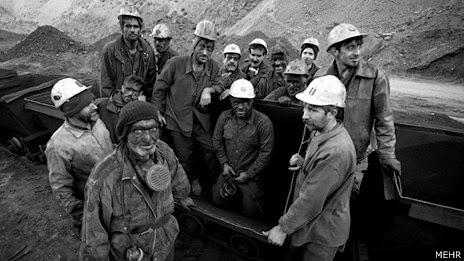 زنده باد کارگران سنگ آهن بافق