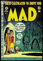 Mad Magazine, Tales Calculated to Drive You Mad, Cover