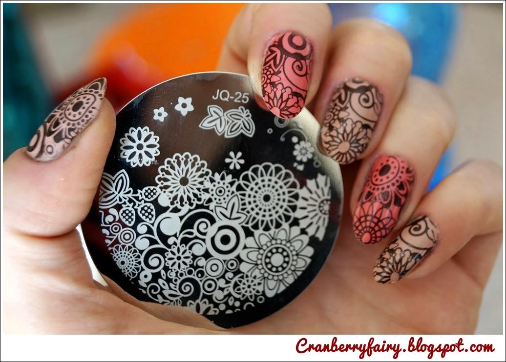 kremowe paznokcie