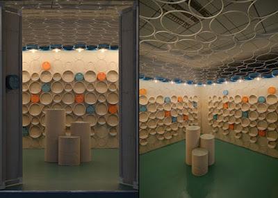 Loja de artesanato projetada para a escala humana