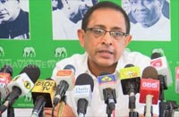 Mahinda not to us challenge in general election