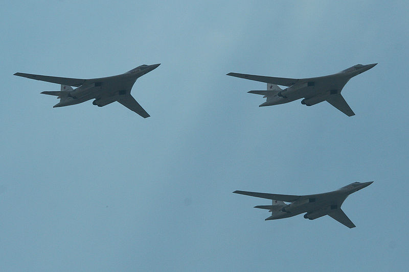 Tupolev tu-160 CisneBranco Blackjack