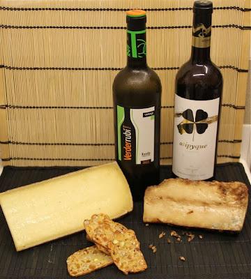 Vinos españoles verdejos y quesos de franceses e italianos