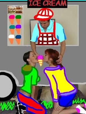 Kreatif! Foto Porno Yang Diubah Menjadi Foto Lucu