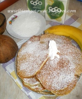 Pancakes bananowo-kokosowe