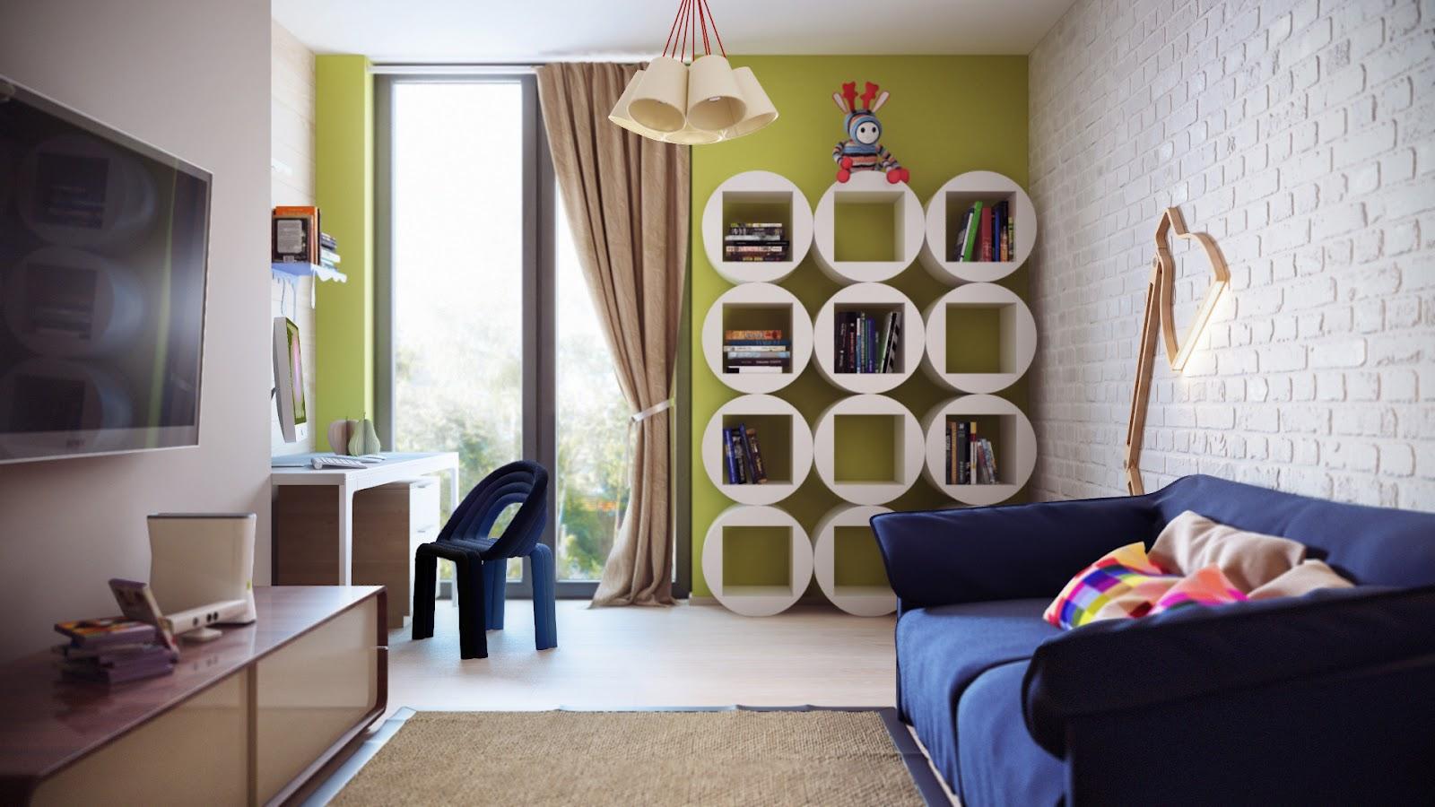 ruang+keluarga+modern Desain Rumah Modern Dari Karya Brilian Arsitektur Uglyanitsa Alexander