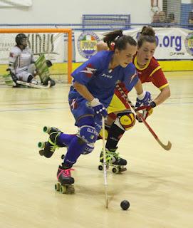 HOCKEY PATINES - Campeonato de Europa femenino 2015 (Matera, Italia)