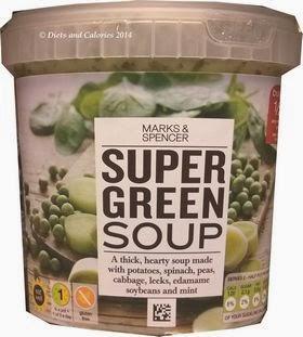 Marks & Spencer Super Green Soup