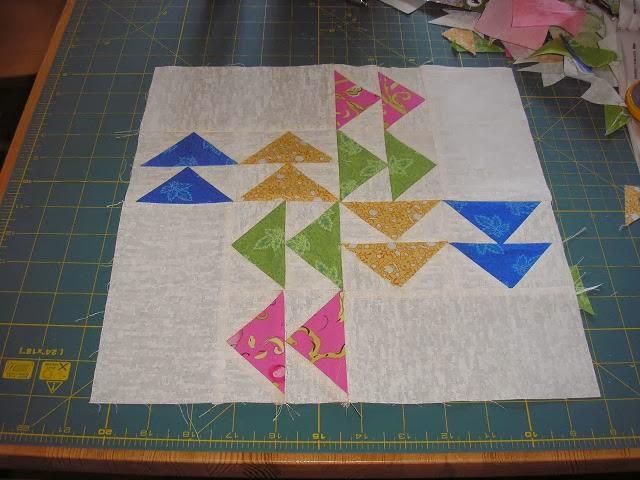 Modern Quilt Along block