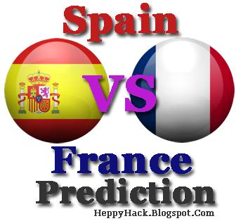 Euro 2012 Prediksi Skor Spain vs France