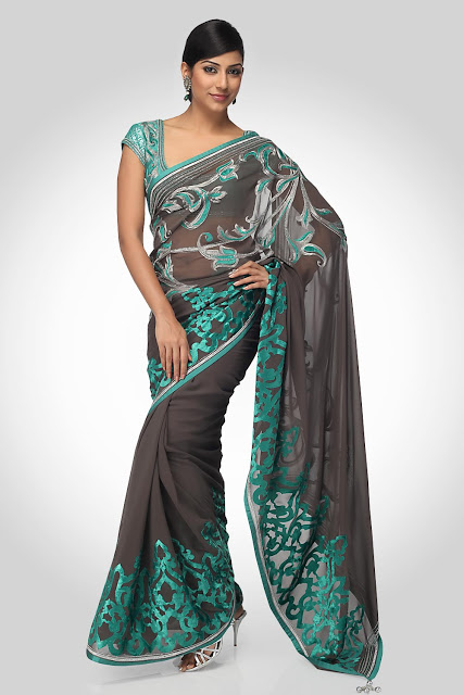 Party-Wear-Bridal-Sarees