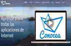Conocea: cursos en videos cortos para aprender a usar internet y aplicaciones web