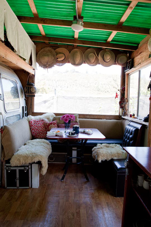 converted airstream trailer