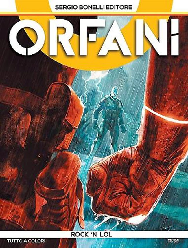 orfani cover copertina numero 12 parodia lol