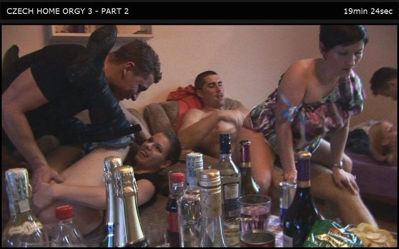 Czech Home Orgy 03 Part 2