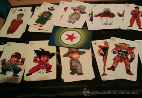 Las Barajas de Cartas de Fournier - Dragon Ball