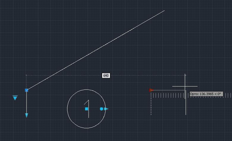 динамические блоки AutoCAD