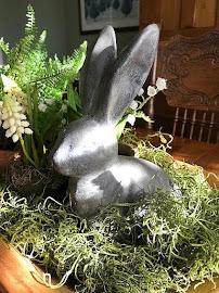 Bunny in Moss