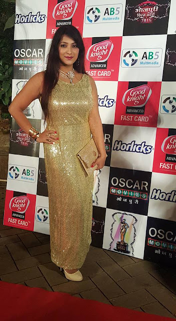 Urvashi Chaudhary at Bhojpuri Film Awards 2015 Photos