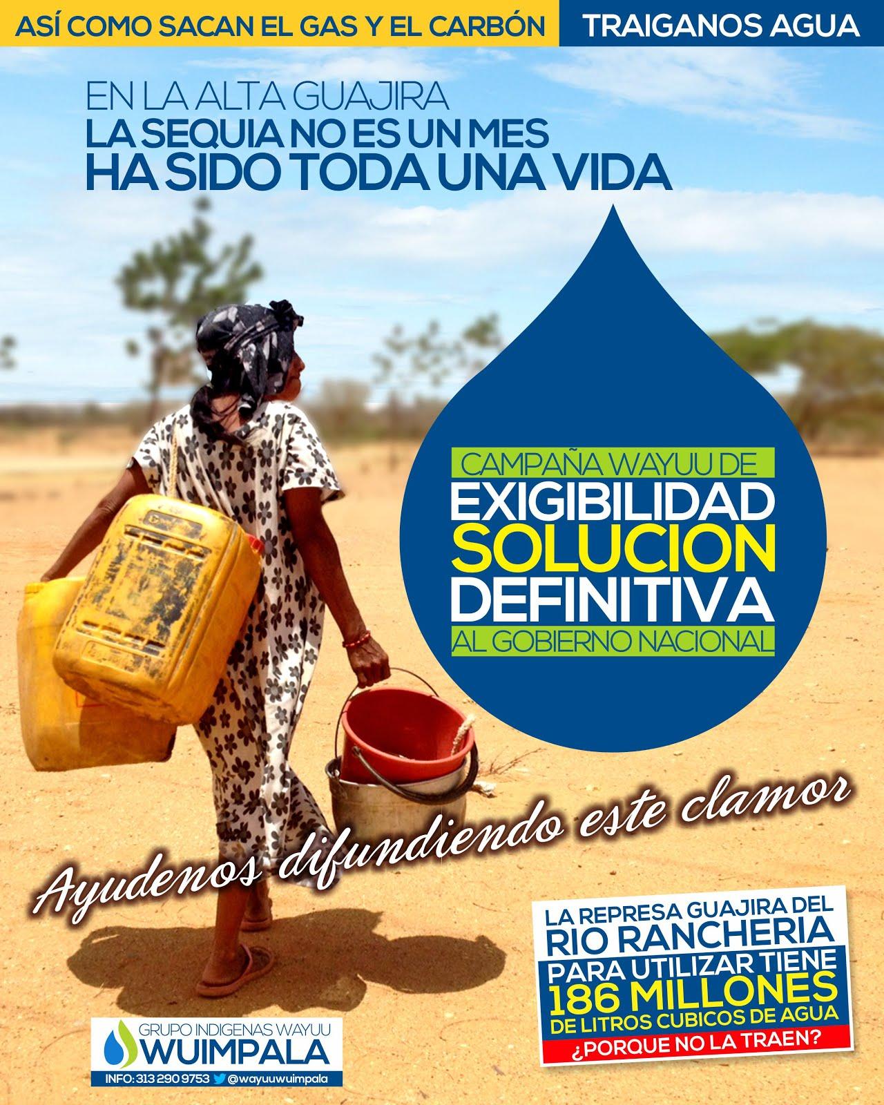 #SEQUIAGUAJIRA ::: Ayúdanos