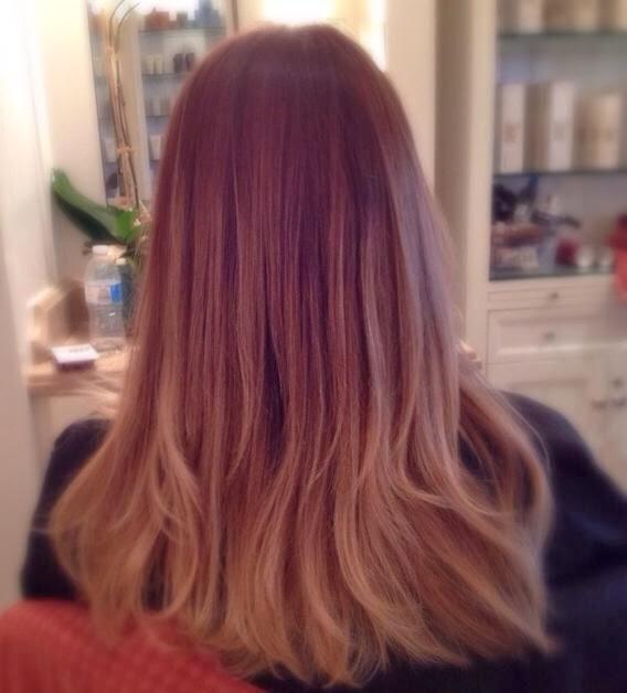 dye ombre hair