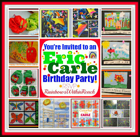 photo of: Eric Carle Birthday Bonanza Bash: Children's Art Response to the Classics at RainbowsWithinReach