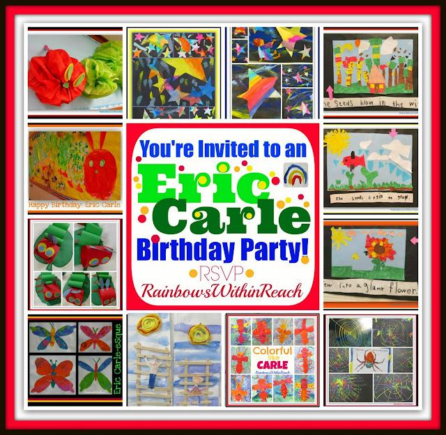 photo of: Eric Carle Birthday Bonanza Bash: Children's Art Response to the Classics at RainbowsWithinReach