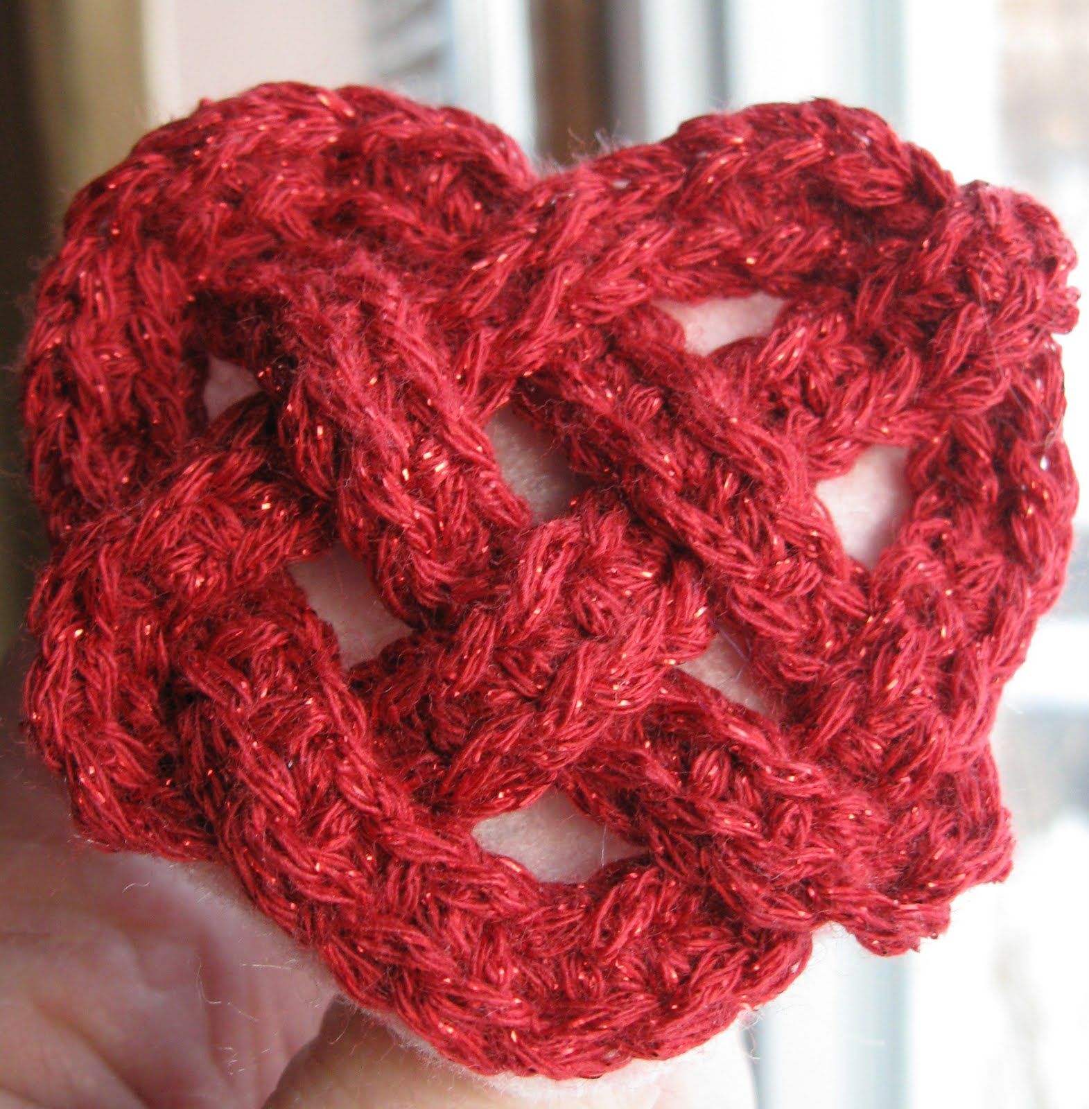 Crochet Knot : Celtic Knot Crochet: Hearts and Knots