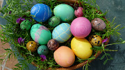 But this year, there they were, just in time for my grandson Leo to help . eggs easter