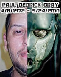 Tribute from Joey Jordison to Paul Gray # 2