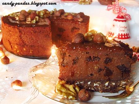 Piernikowy jagielnik/trufla (bez glutenu, wegański)