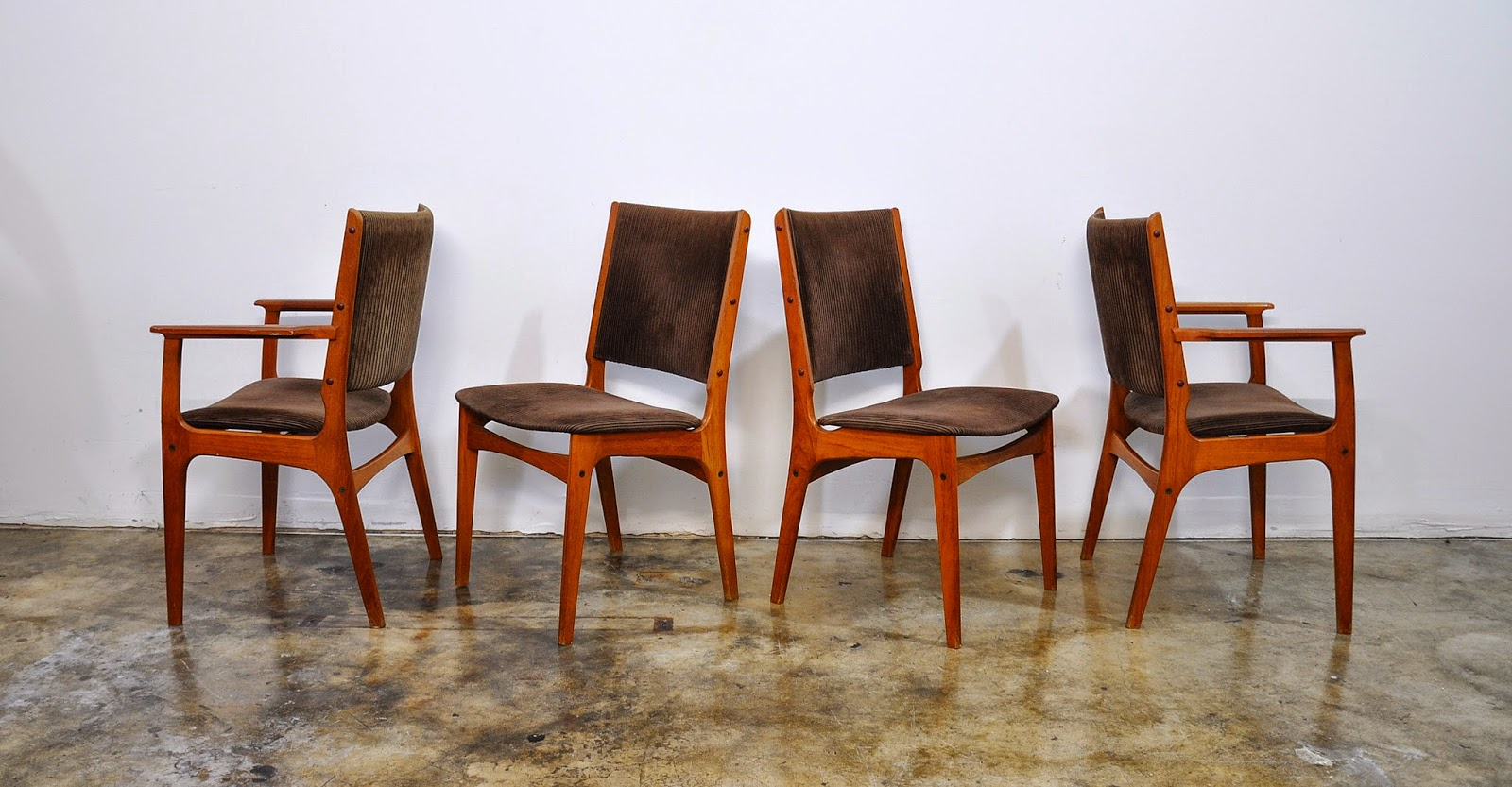 modern teak dining chairs black leather vintage retro eames 8 lgw jpg