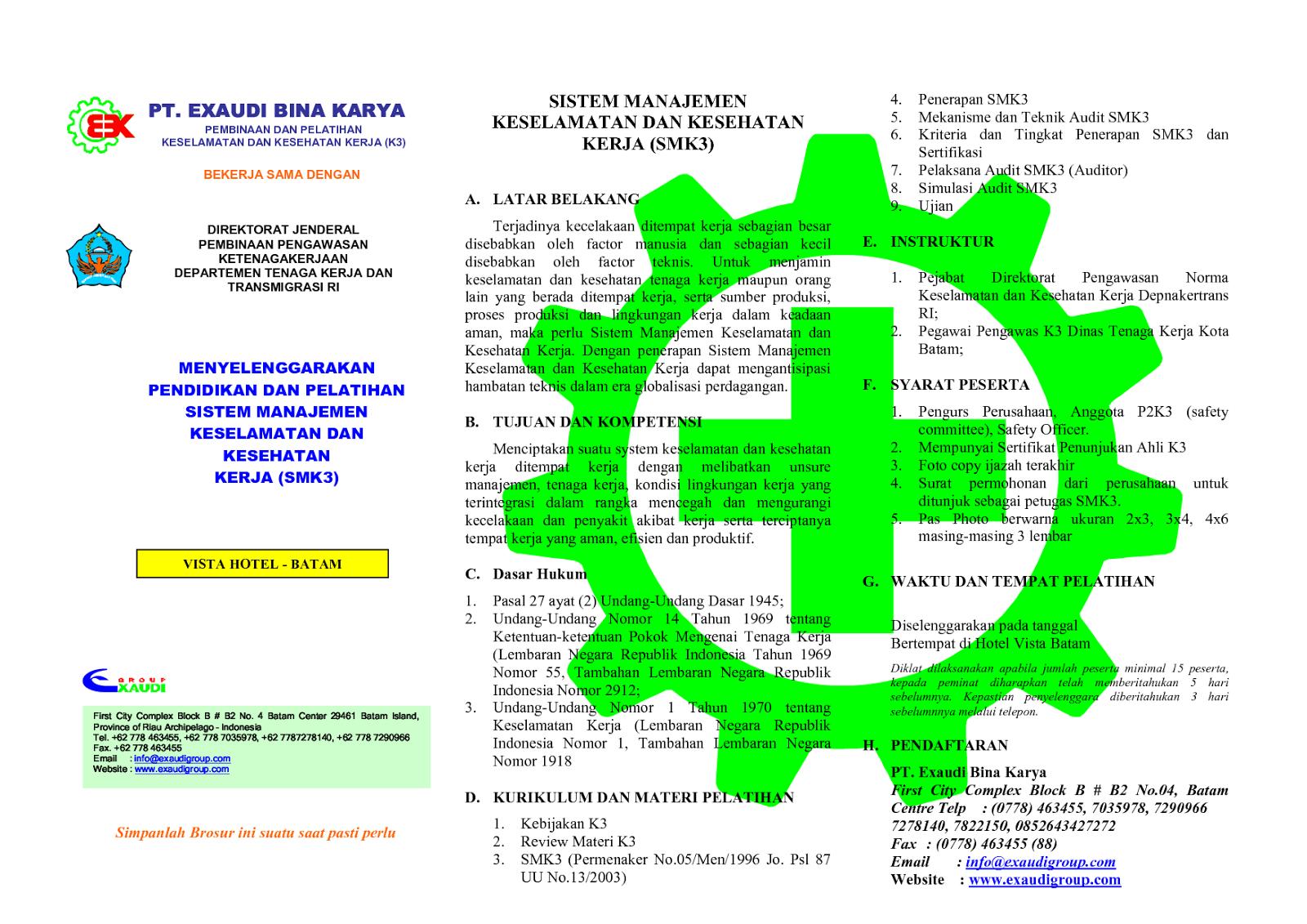 GAMBAR K3 - kesehatan dan keselamatan kerja