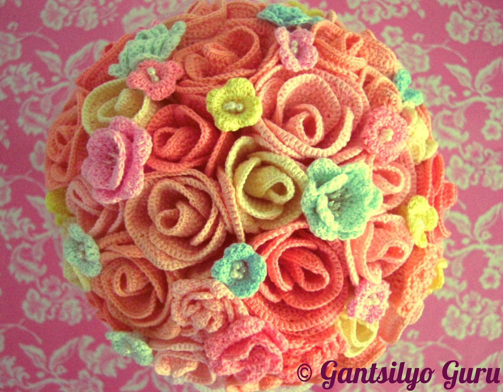 Gantsilyo guru crocheted bouquet is here crocheted bouquet is here izmirmasajfo