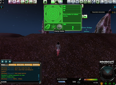 Entropia Universe - Finder Window