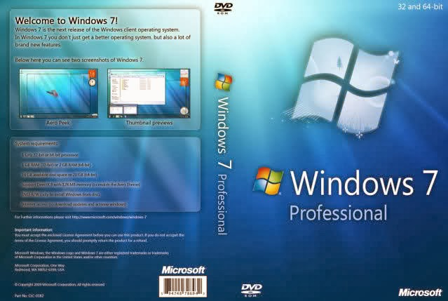 Download Windows 7 64-bit Professional x64 English