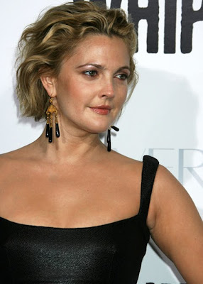Drew Barrymore Gemstone Chandelier Earrings