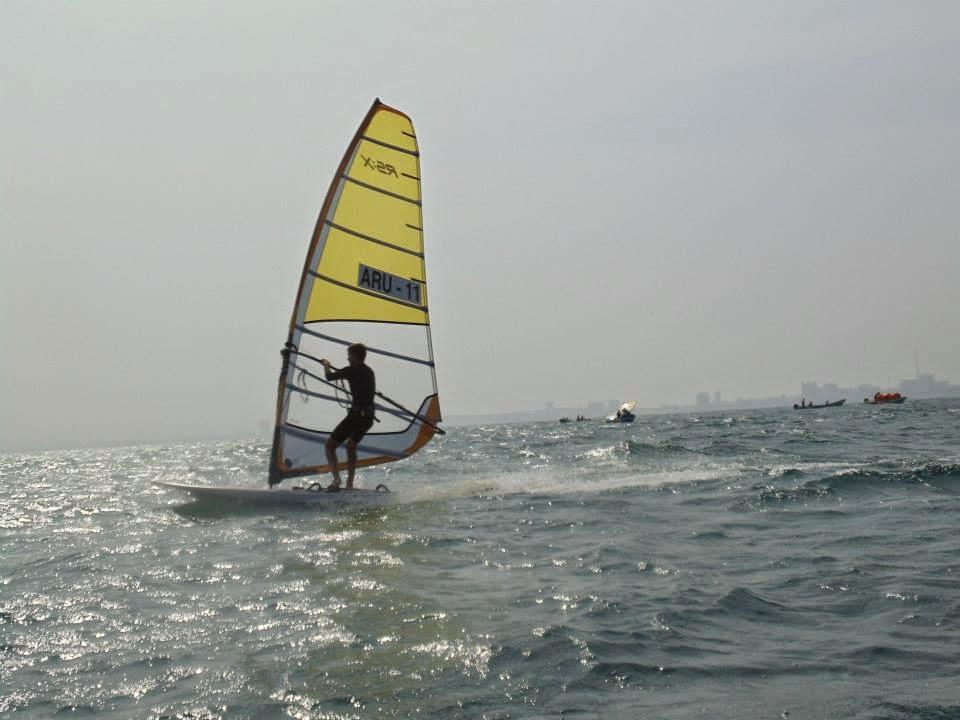 Windsurf Juegos Centroamericanos y del Caribe 2014