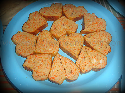 Simple Joys Photo: Heart-Shaped Tamagoyaki