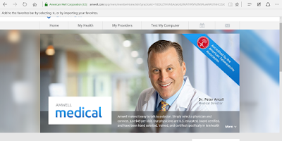 Amwell:  Online Doctor Visit