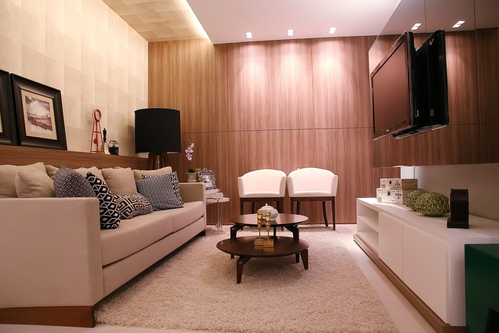 Casa studio uma sala perfeita for Salas en l pequenas