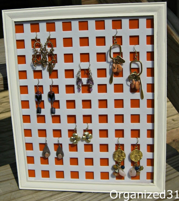 Organized 31- $2 Earring Holder