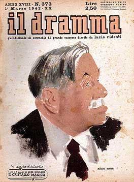 Il Dramma n. 373, 1 marzo 1942, copertina