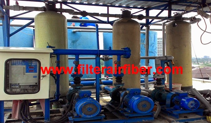 jual sand dan carbon filter softener