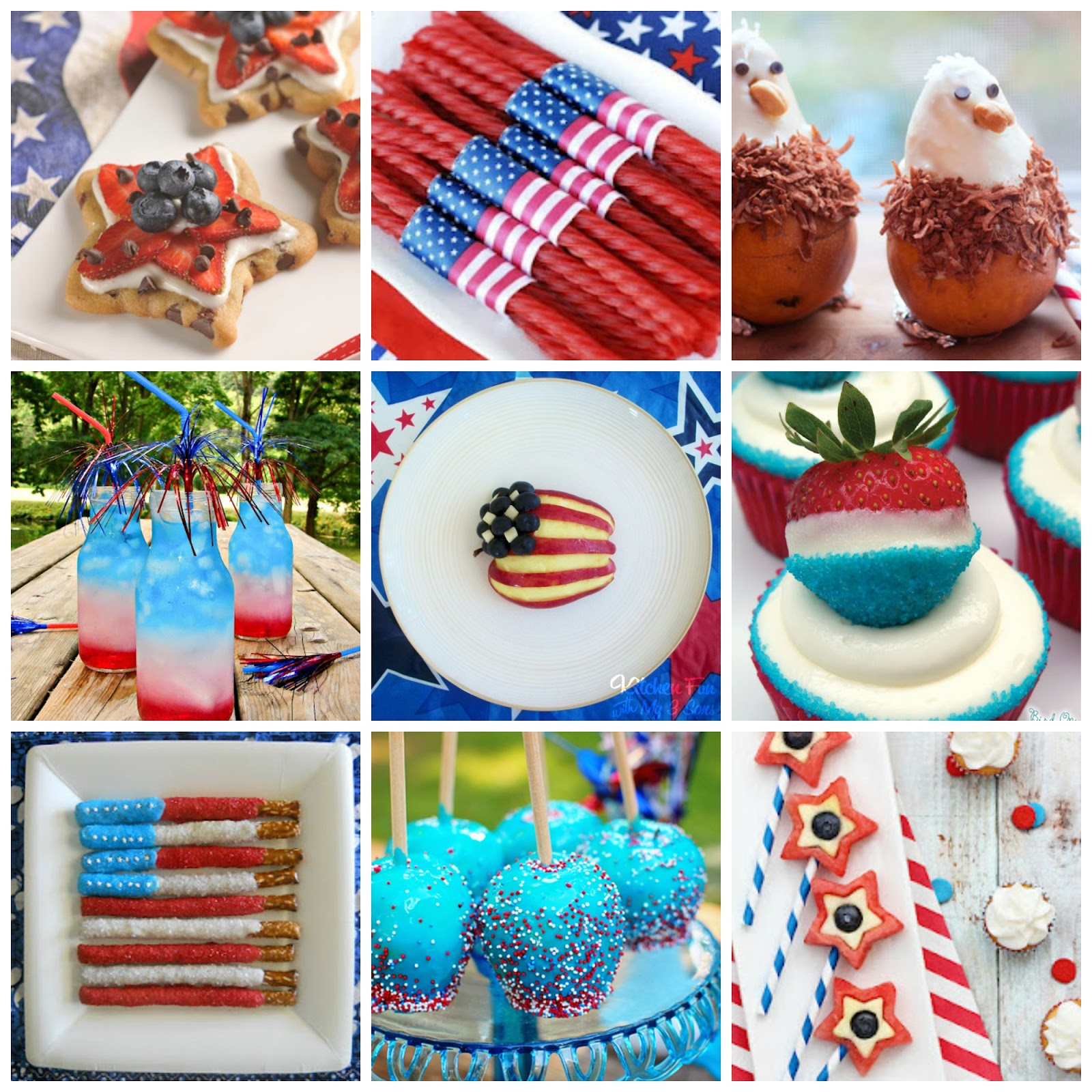 20 july 4th fun food ideas kitchen fun with my 3 sons for July 4th food ideas