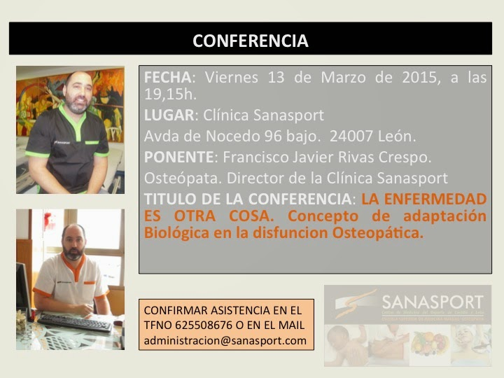 conferencias Sanasport