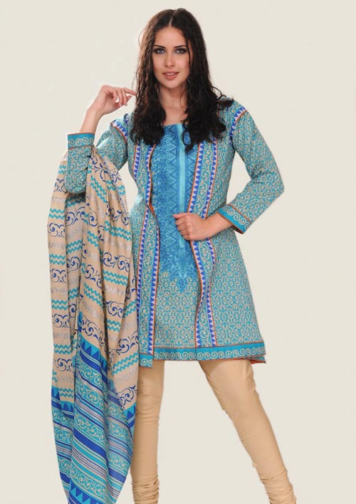 Al Karam Eid Collection 2011 (Block Print)