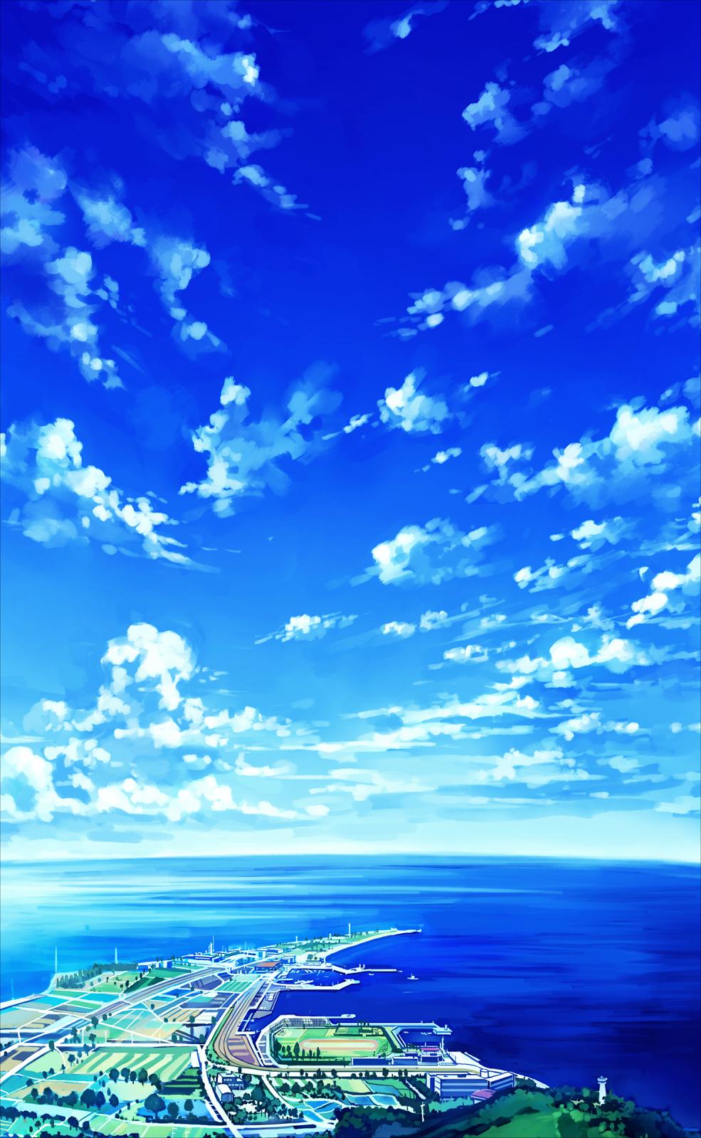 Anime Landscape: Sky (Anime Background)